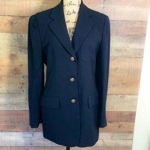 Lauren Ralph Lauren Blue Blazer Jacket